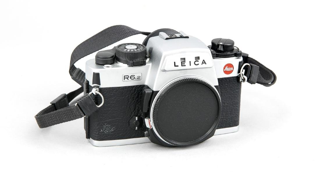 Leica R6.2 Kameragehäuse mit Staubdeckel, 193873