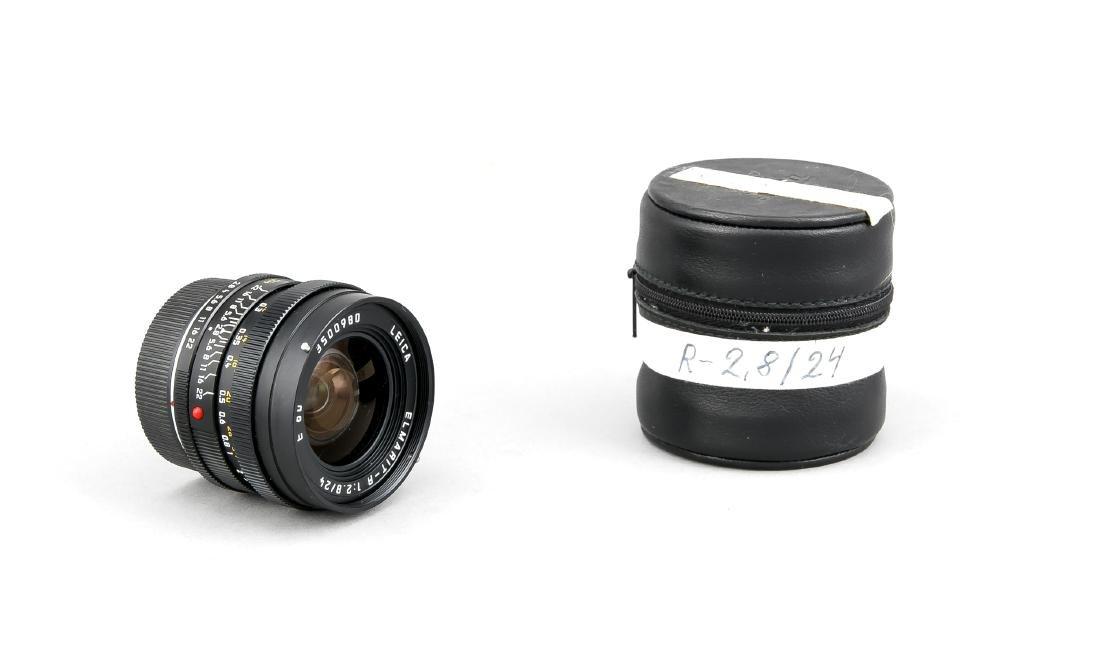 Leica Elmarit-R 1:2.8/24 E60 Objektiv 3500980, mit