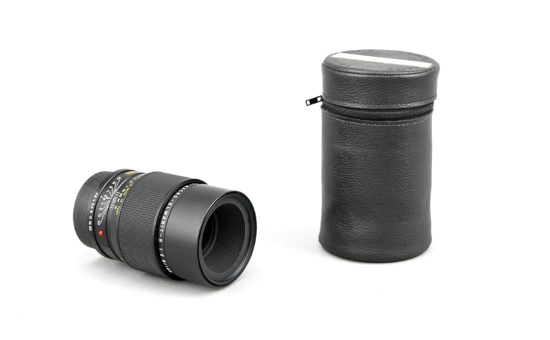 Leica APO-Macro-Elmarit-R 1:2.8/100 E60 Objektiv mit