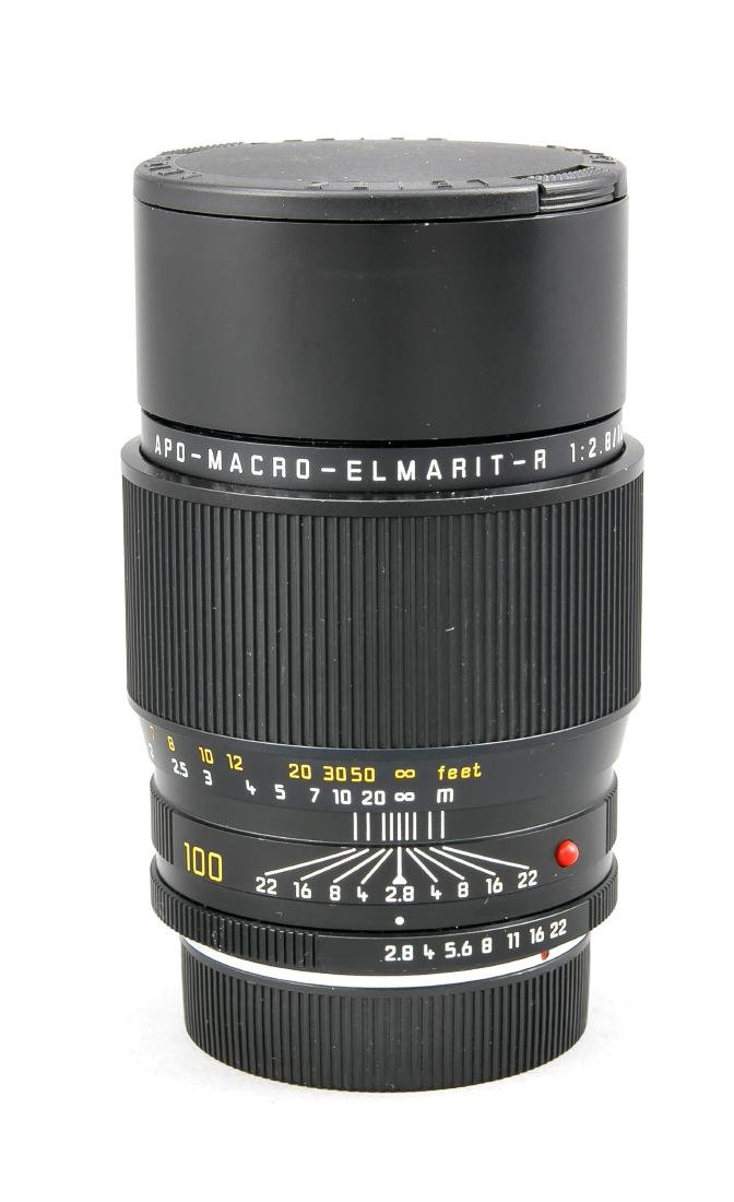 Leica APO-Macro-Elmarit-R 1:2.8/100 E60 Objektiv mit - 2
