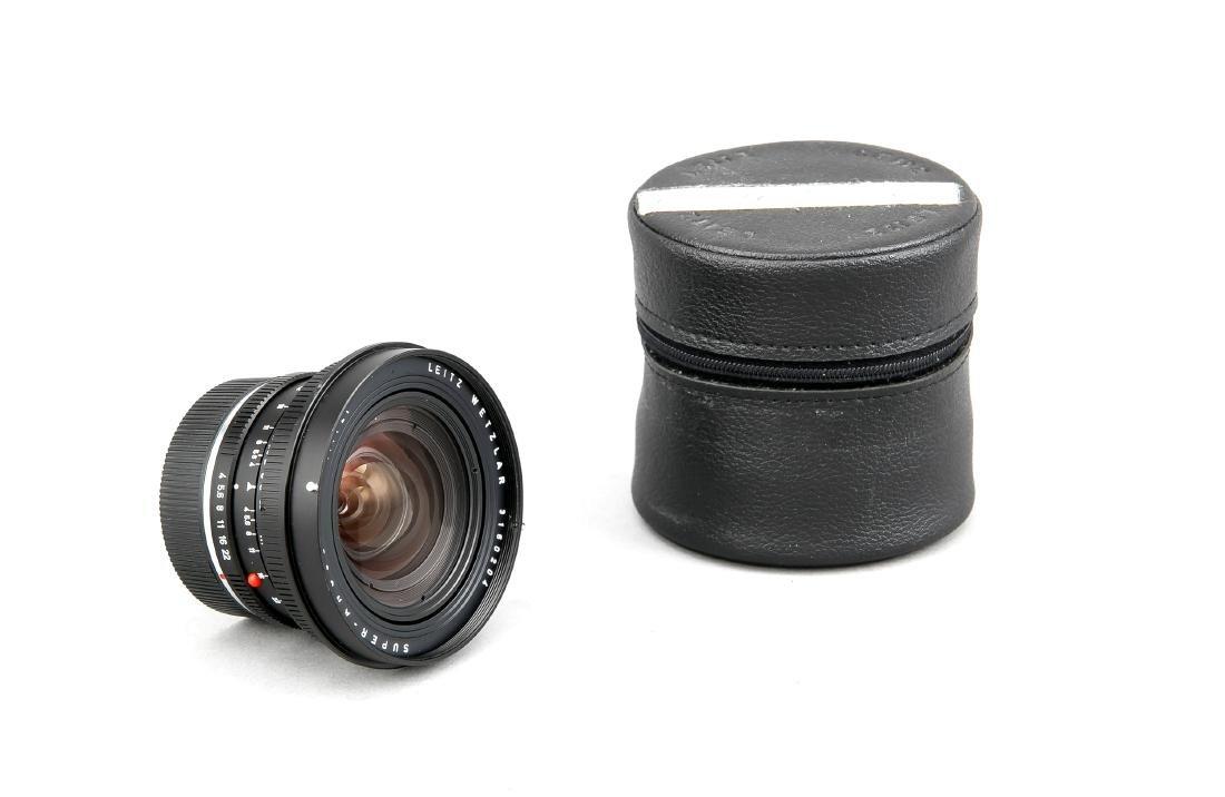 Leica Super-Angulon-R 1:4/21, 3160204, Staubkappen und