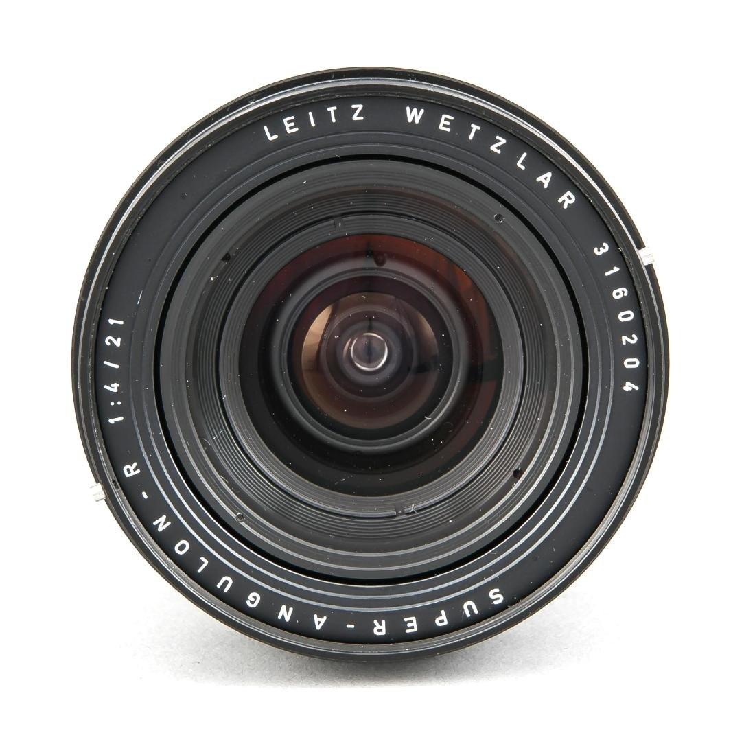 Leica Super-Angulon-R 1:4/21, 3160204, Staubkappen und - 2