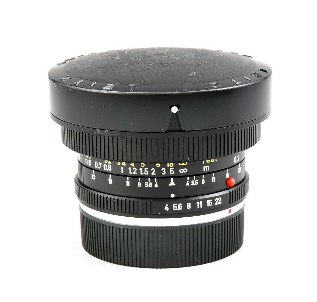 Leica Super-Angulon-R 1:4/21, 3160204, Staubkappen und - 3