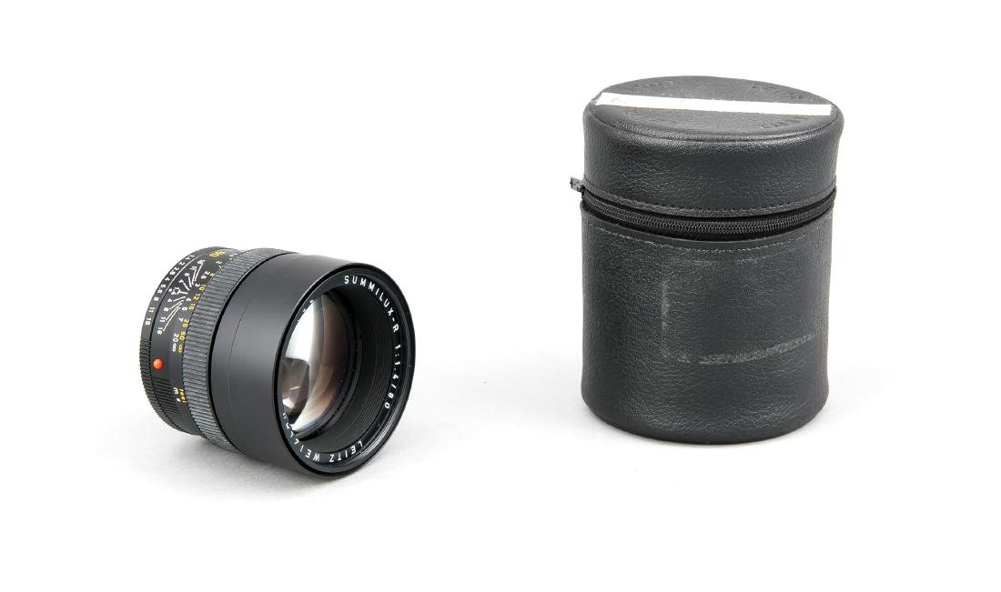 Leica Summilux-R 1:1.4/80 Objektiv, 3398102, hinter