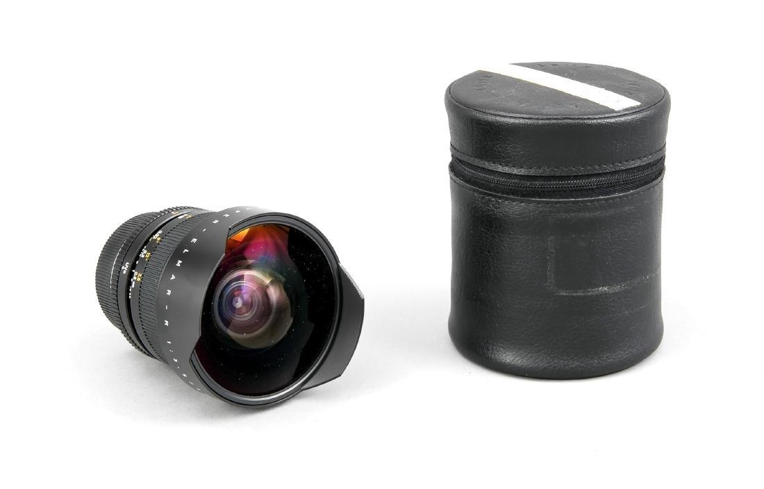 Leica super-Elmar-R 1:3.5/15 Weitwinkelobjektiv,
