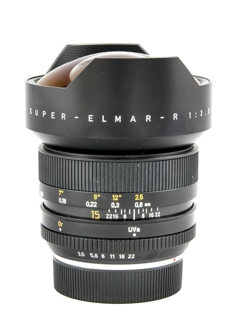 Leica super-Elmar-R 1:3.5/15 Weitwinkelobjektiv, - 3
