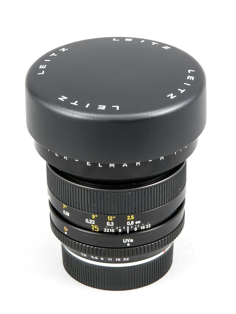 Leica super-Elmar-R 1:3.5/15 Weitwinkelobjektiv, - 5