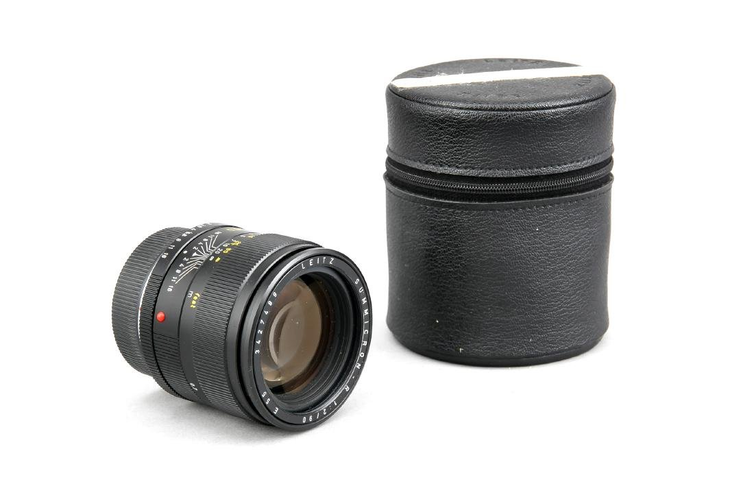 Leica Summicron-R 1:2/90 E55 Objektiv, 3427489, mit