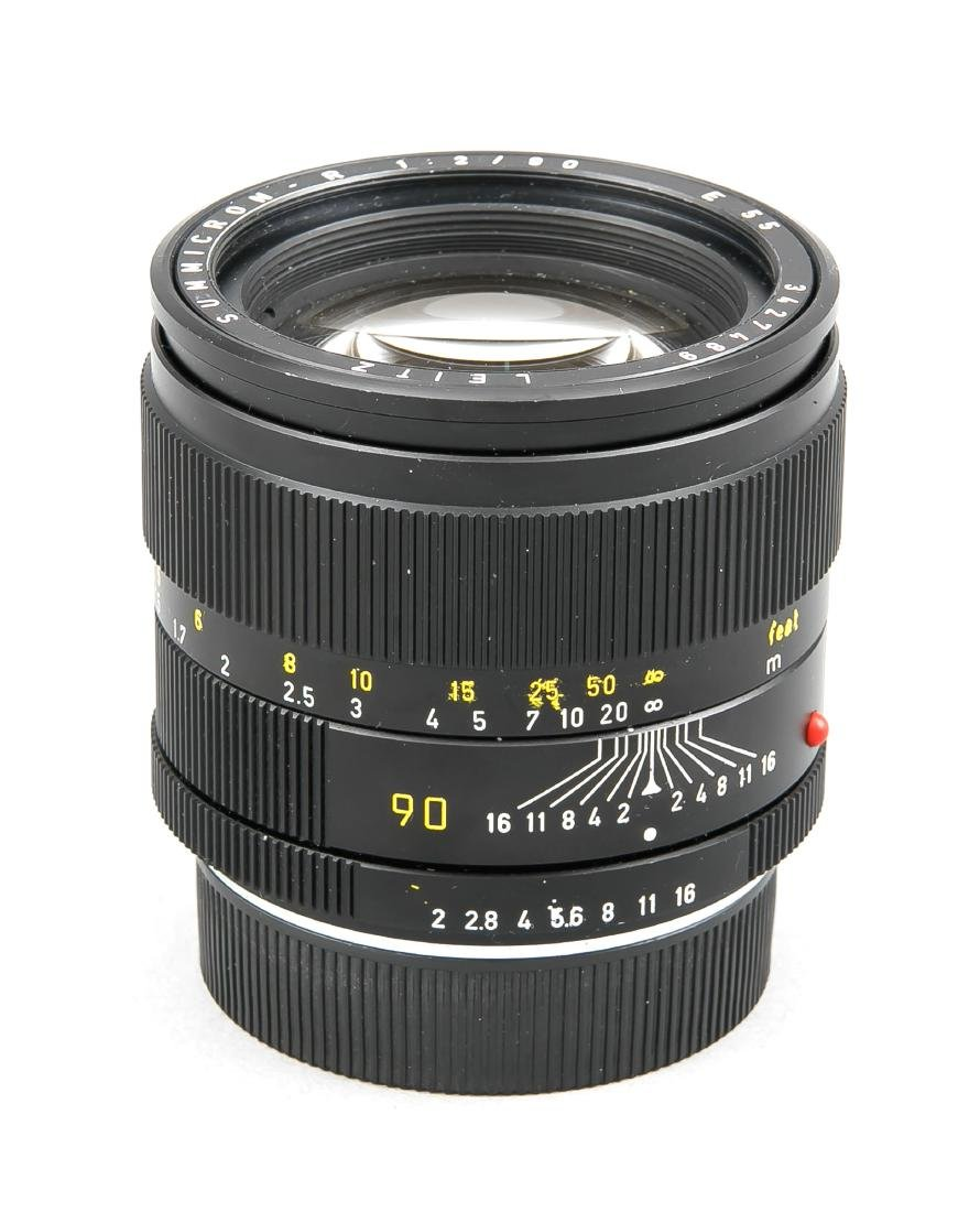 Leica Summicron-R 1:2/90 E55 Objektiv, 3427489, mit - 2