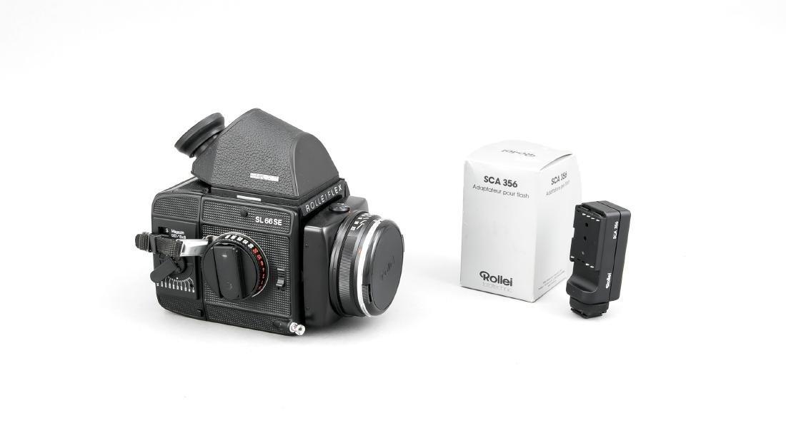Rolleiflex Sl 66 SE mit Planar 1:2,8/80 HFT Objektiv