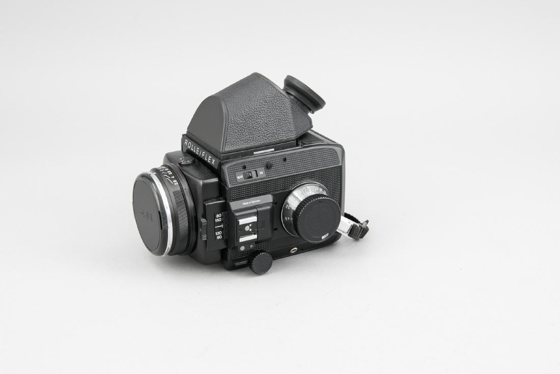 Rolleiflex Sl 66 SE mit Planar 1:2,8/80 HFT Objektiv - 2