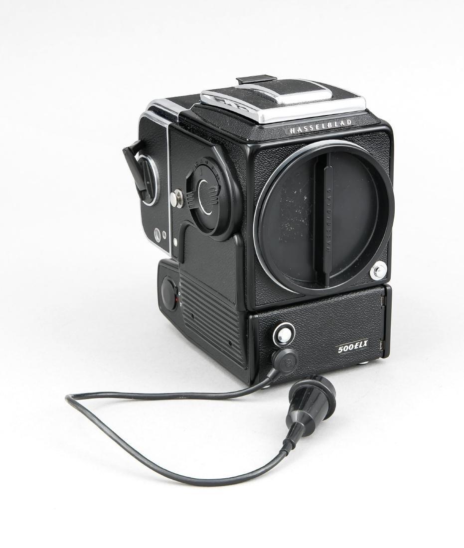 Hasselblad 500 ELX Mittelformatkamera mit A24 6x6