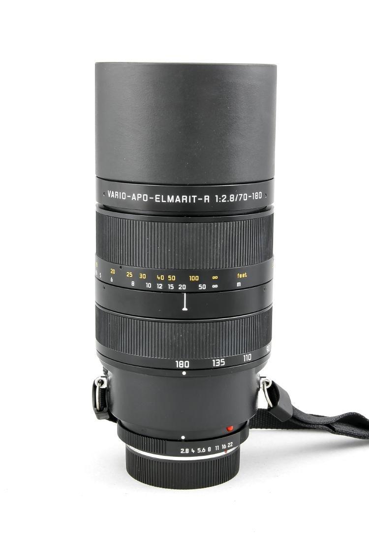 Leica Vario-Apo-Elmarit-R 1:2.8/70-180 E 77 Objektiv, - 2