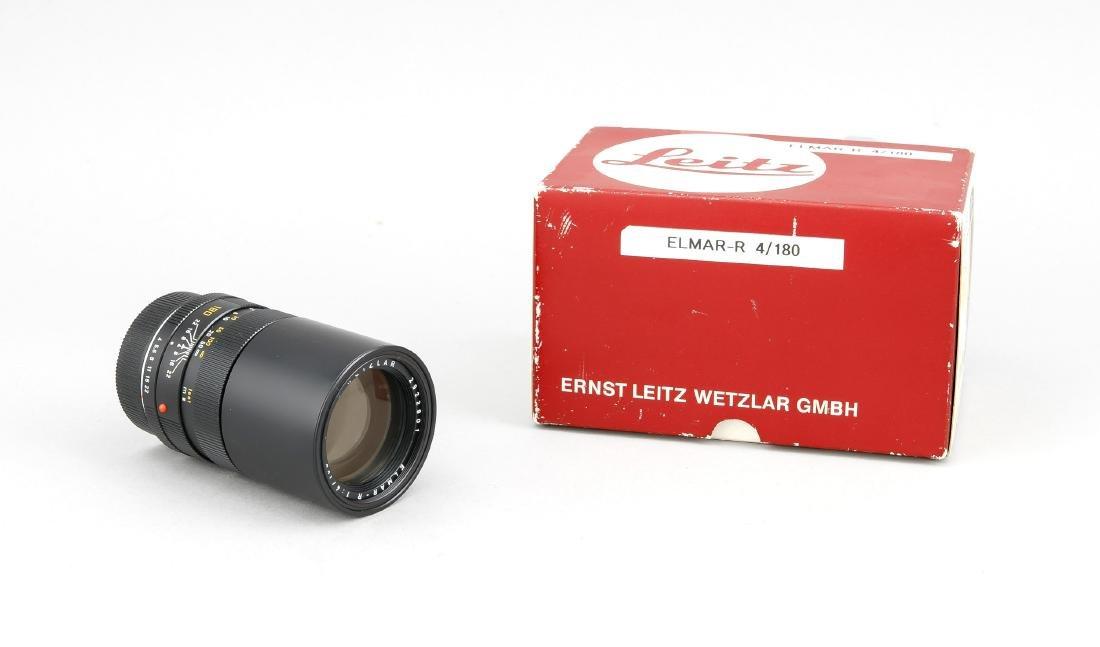 Leica Leitz Wetzlar Elmar-R 1:4/180, 2922801, vordere
