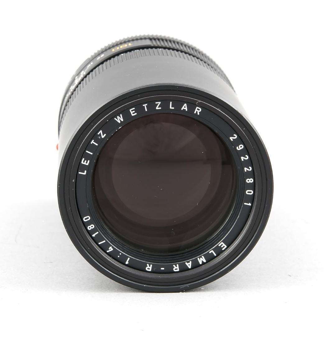 Leica Leitz Wetzlar Elmar-R 1:4/180, 2922801, vordere - 2