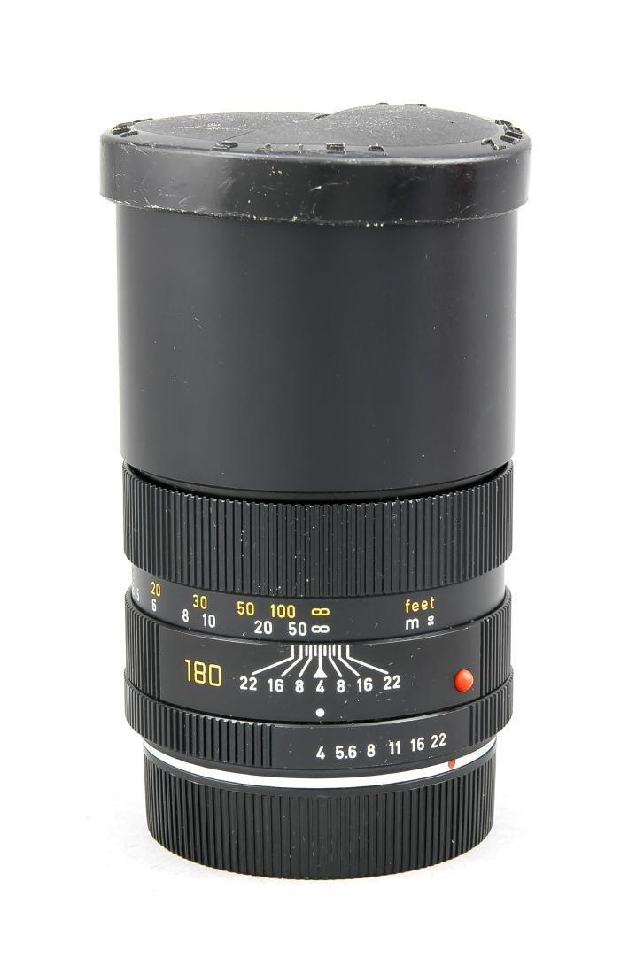Leica Leitz Wetzlar Elmar-R 1:4/180, 2922801, vordere - 3
