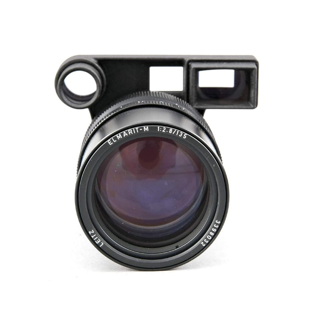 Leica Leitz Elmarit-M 1:2.8/135, 3398032, mit - 2