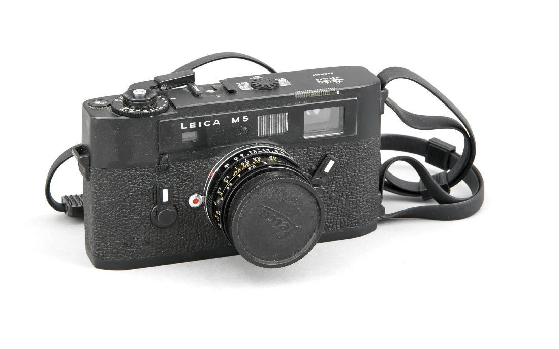 Leica M5 (1971-75), Messsucherkamara mit TTL-Messung,