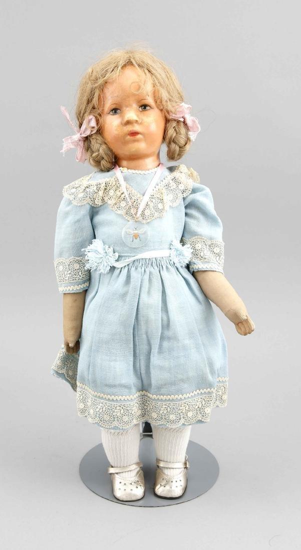 Käthe Kruse Puppe, Mitte 20. Jh,, Stoffkörper,