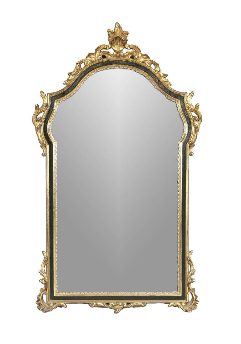 Wandspiegel im Stil des 18. Jh., Mitte 20. Jh.,