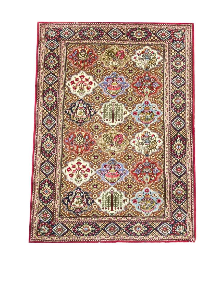 carpet 108 x 155 cm   German:   Teppich, 108 x 155 cm