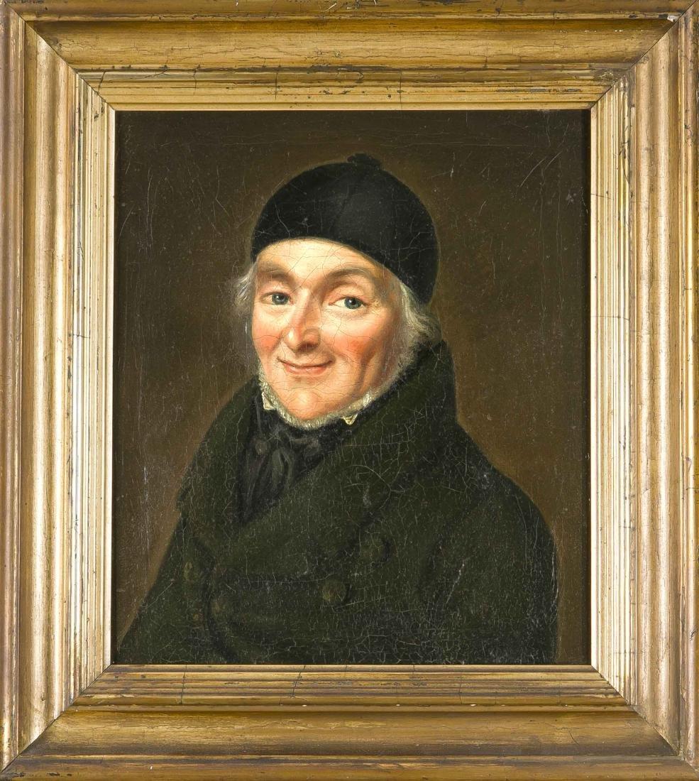 Anton Caster, portrait painter of the Biedermeier