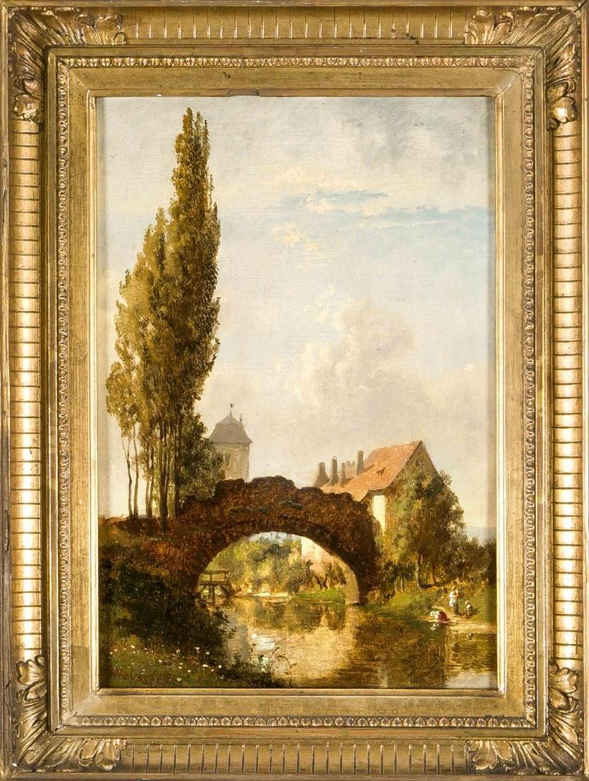 Karl Weysser (1833-1904), Heidelberg, ''In the