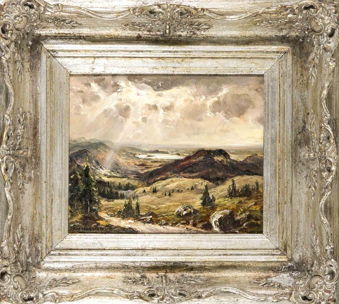 Josef Rolf Knobloch (1891-1964), Munich landscape