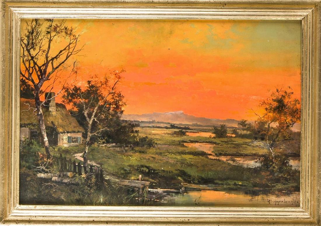 Theodor Guggenberger (1866-1929), Munich landscape