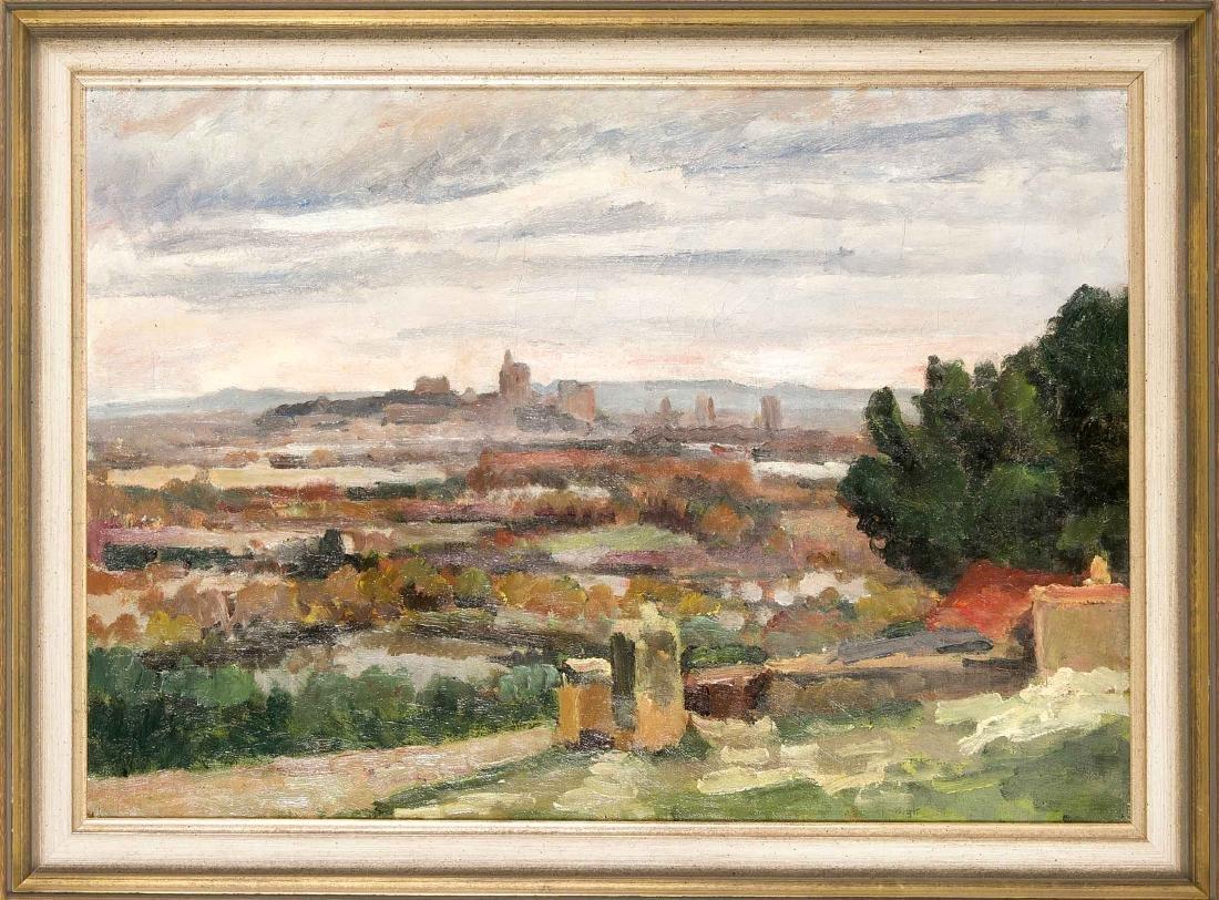 Anonymous painter around 1920, impressionistically