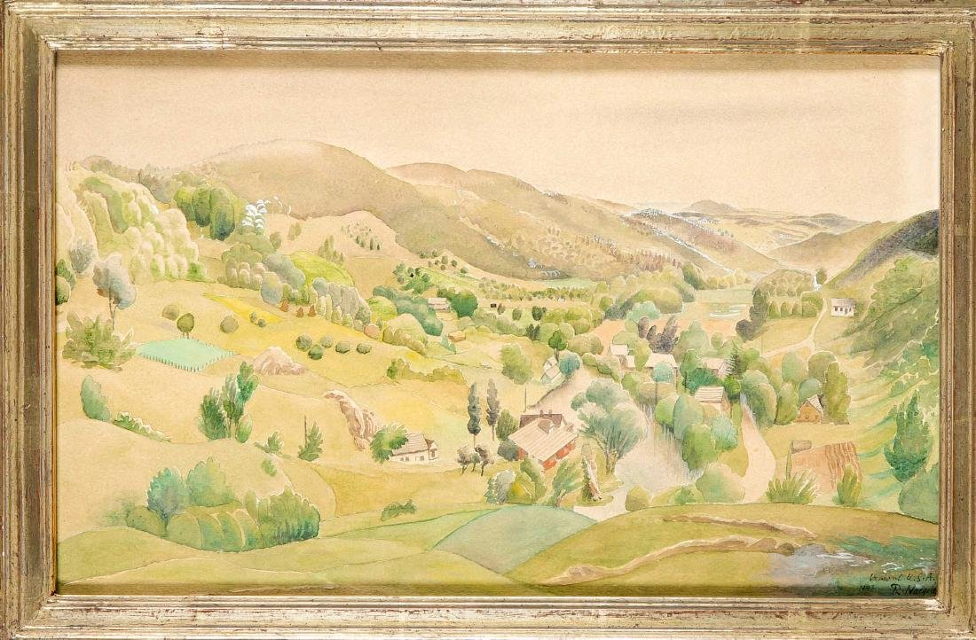 Reinhold Nägele (1884-1972), Stuttgart painter, was