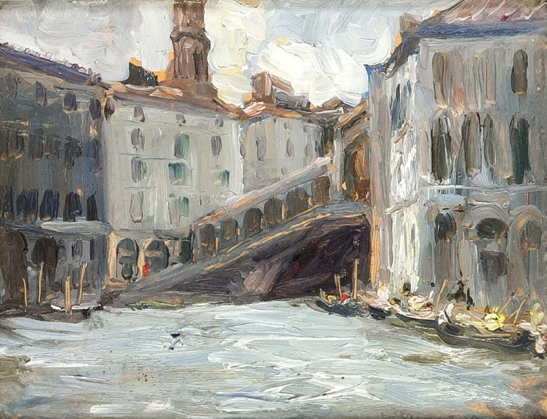 Giovanni Zangrando (1869-1941) (attrib.), View of the