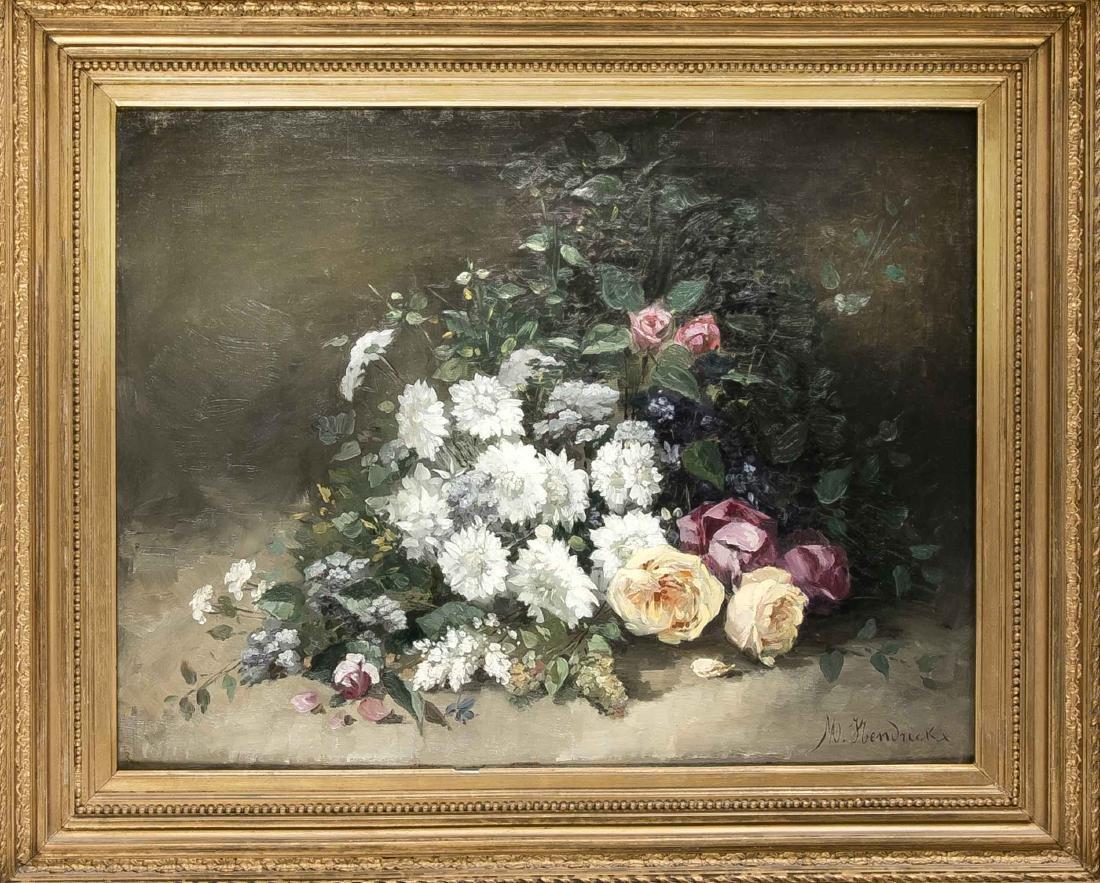 Michel-Antoine Hendrickx (1847-1906), still life of