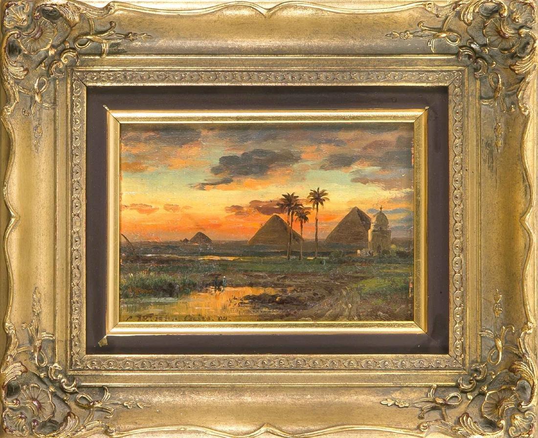 Carl Wuttke (1849-1927), German landscape and
