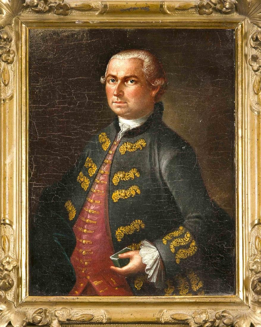 Anonymous portrait painter of the 18th century,