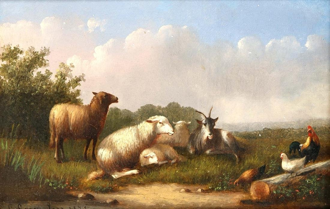 Henry Josef Gommarus Carpentero (1820-1874), Belgian