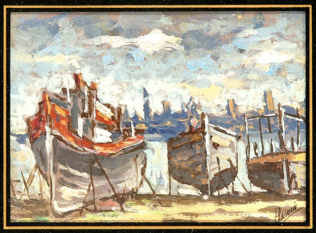 Henri Alphonse Barnoin (1882-1940), French painter,