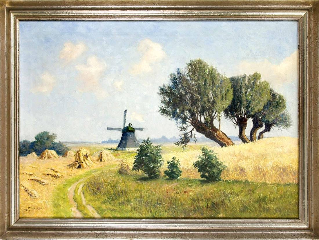 Wilhelm Facklam (1893-1972), German landscape painter,
