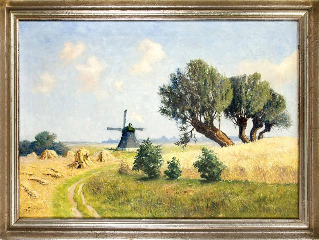 Wilhelm Facklam (1893-1972), German landscape painter,