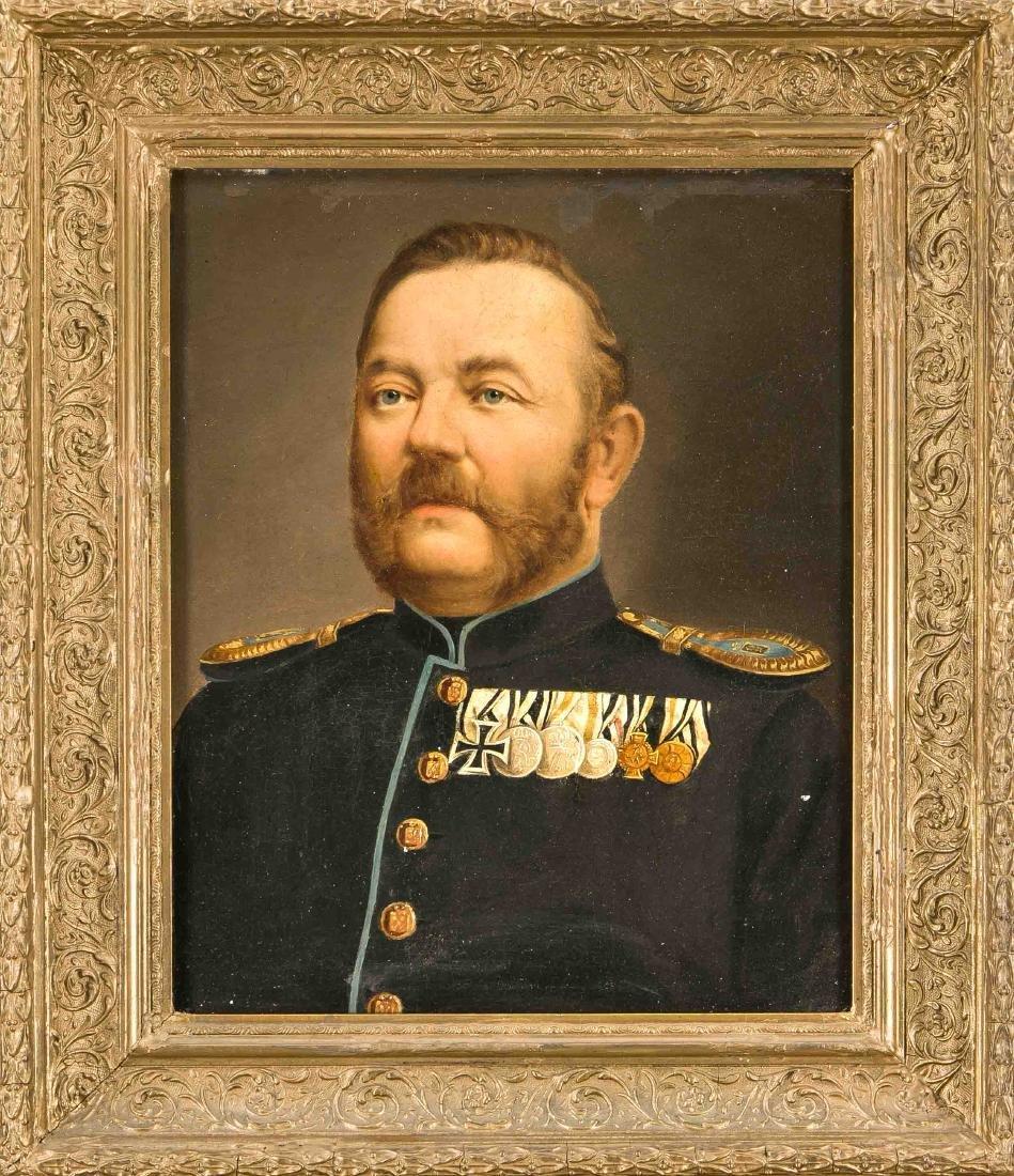 Portrait painter 2nd half of the 19th c., Portrait of a