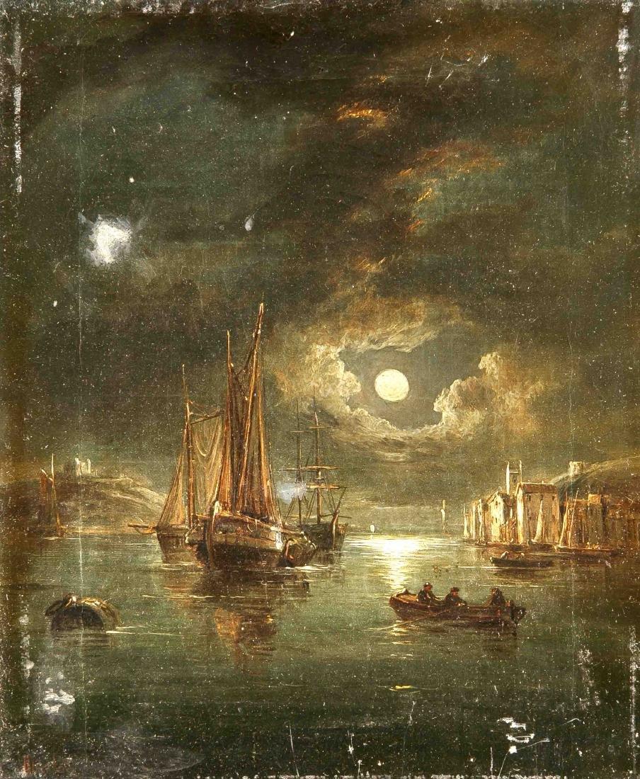 John Mundell (1818-1875), British landscape painter,