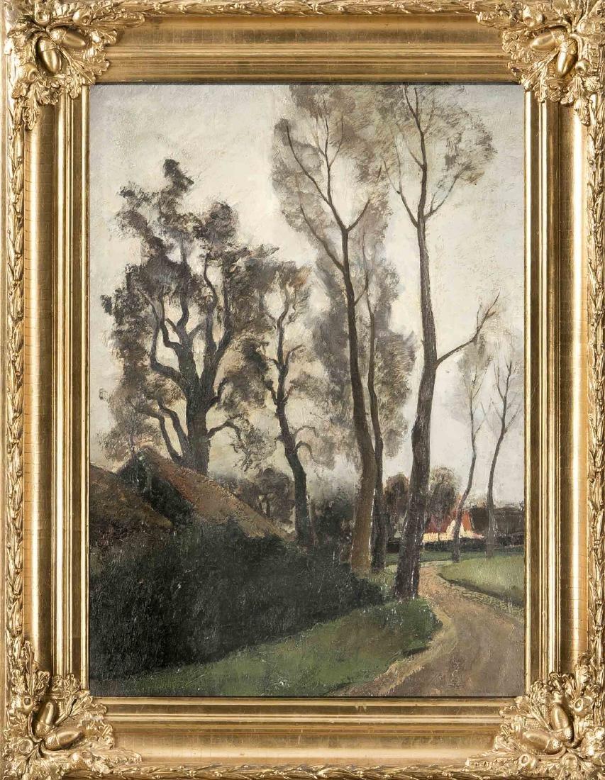 Arthur Meersman (1908-1984), Belgian painter, autumn