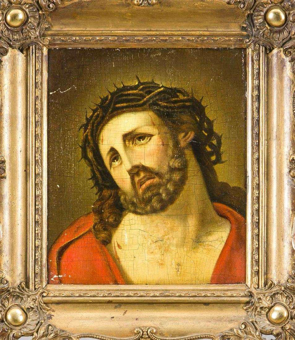 Devotional painting of the 19th century, ''Ecce Homo'',