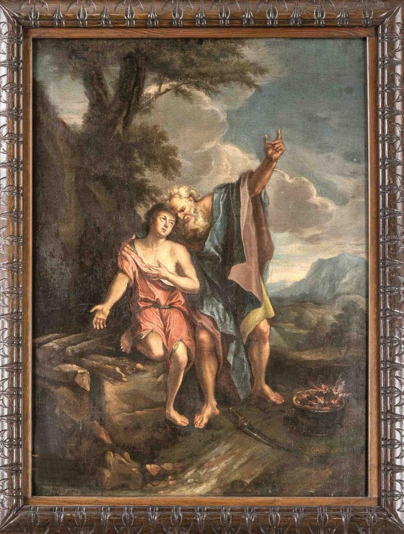 Italian master of the 18th century, ''Abraham and