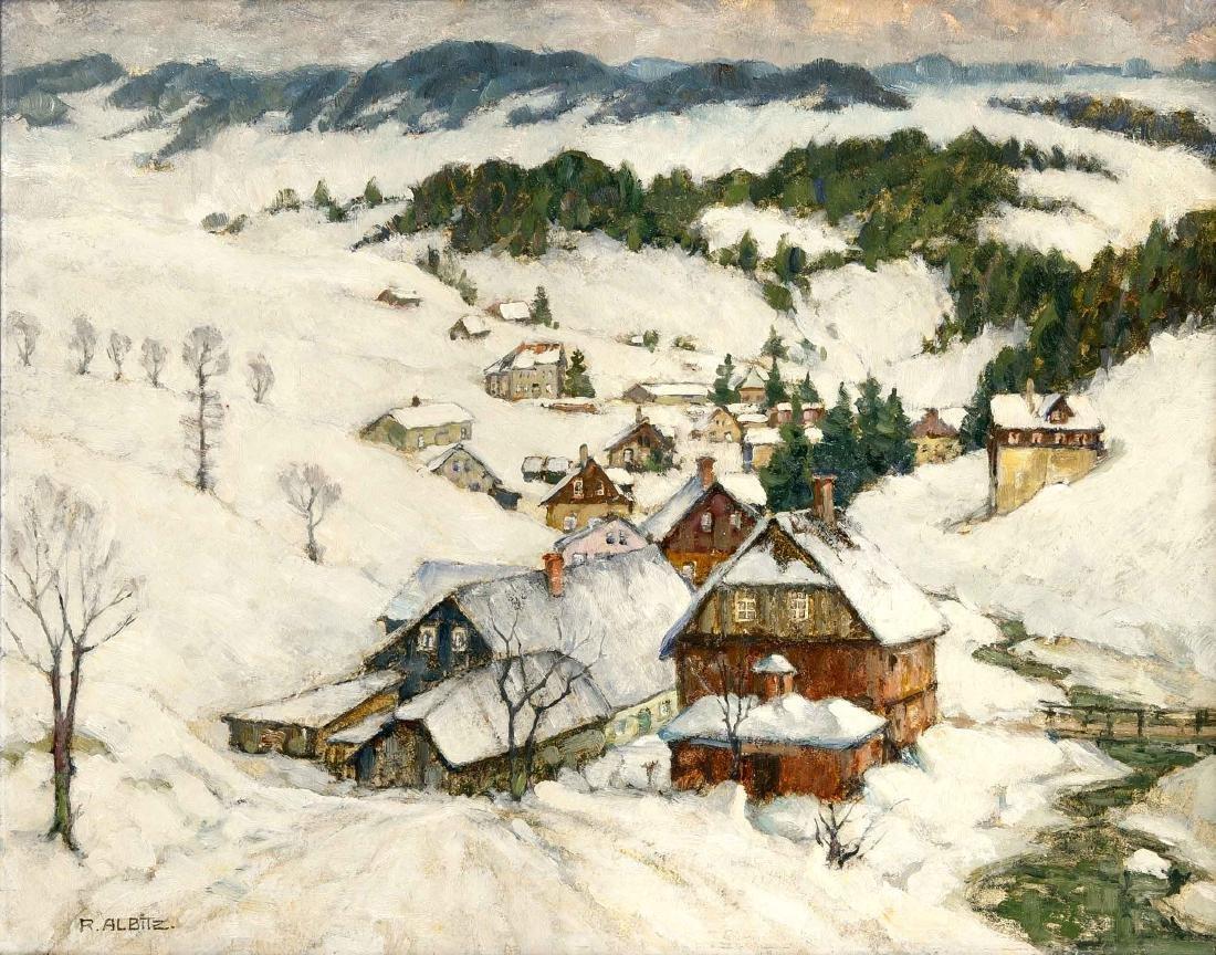 Richard Albitz (1876-1954), Berliner Landschaftsmaler,