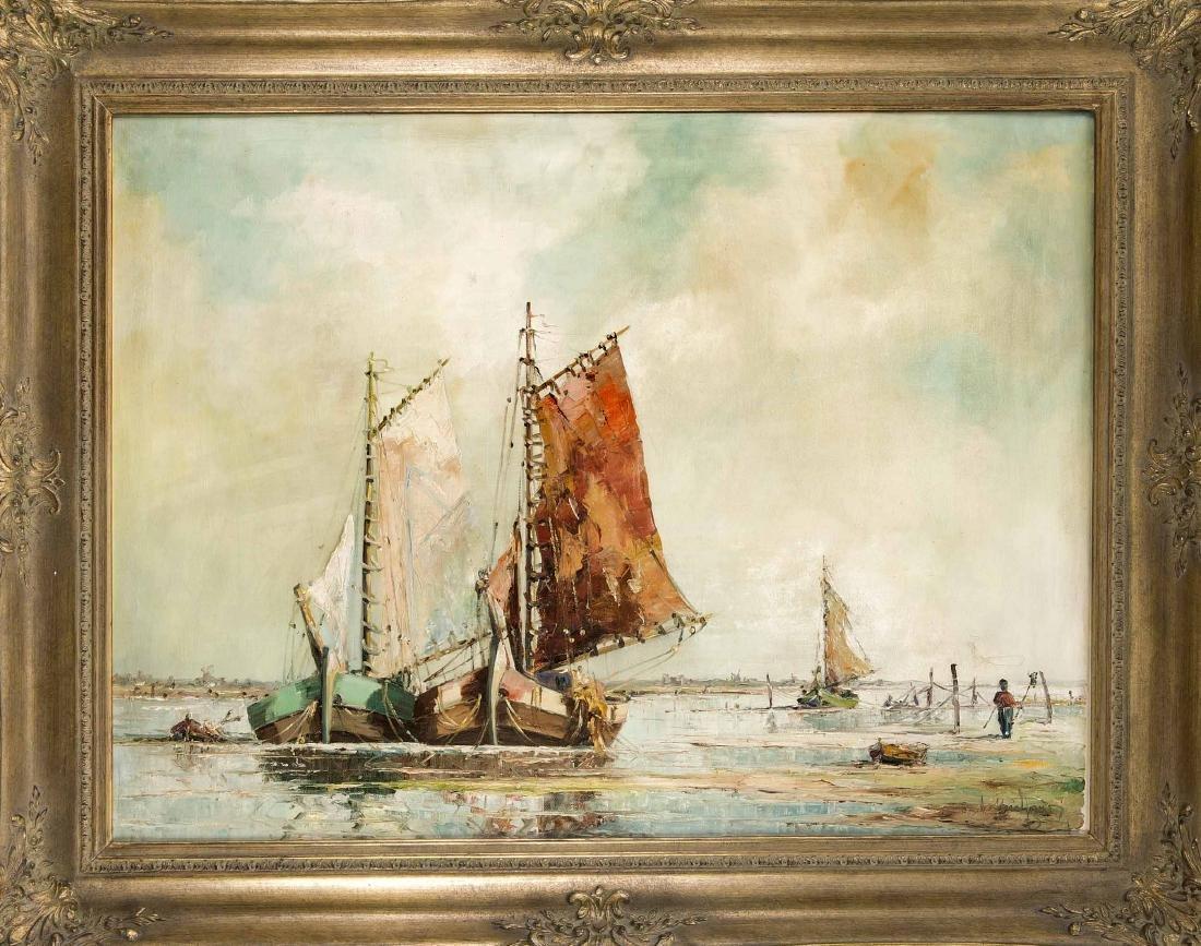 Unidentifizierter Marinemaler 1. H. 20. Jh.,