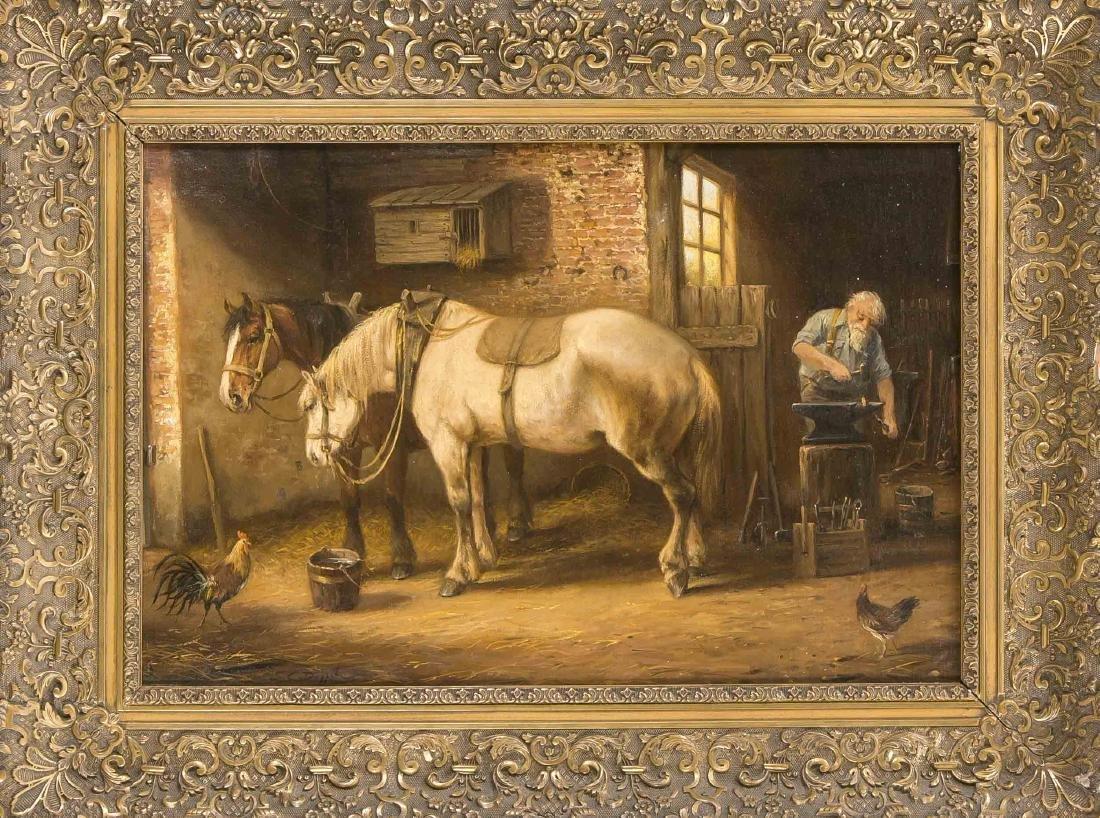 C. van Diggelen, 2. H. 20. Jahrhundert, Pferde in der