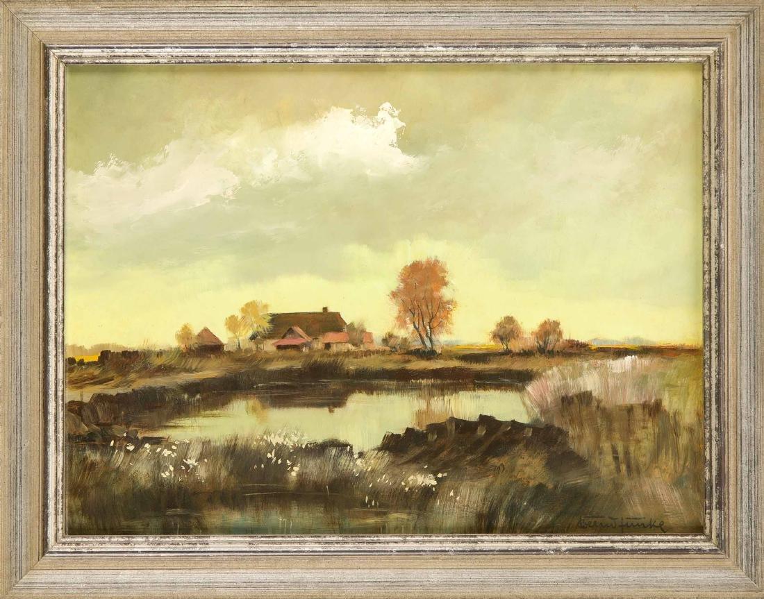 Bernd Funke (1902-1988), in Heide tätiger Heimatmaler,