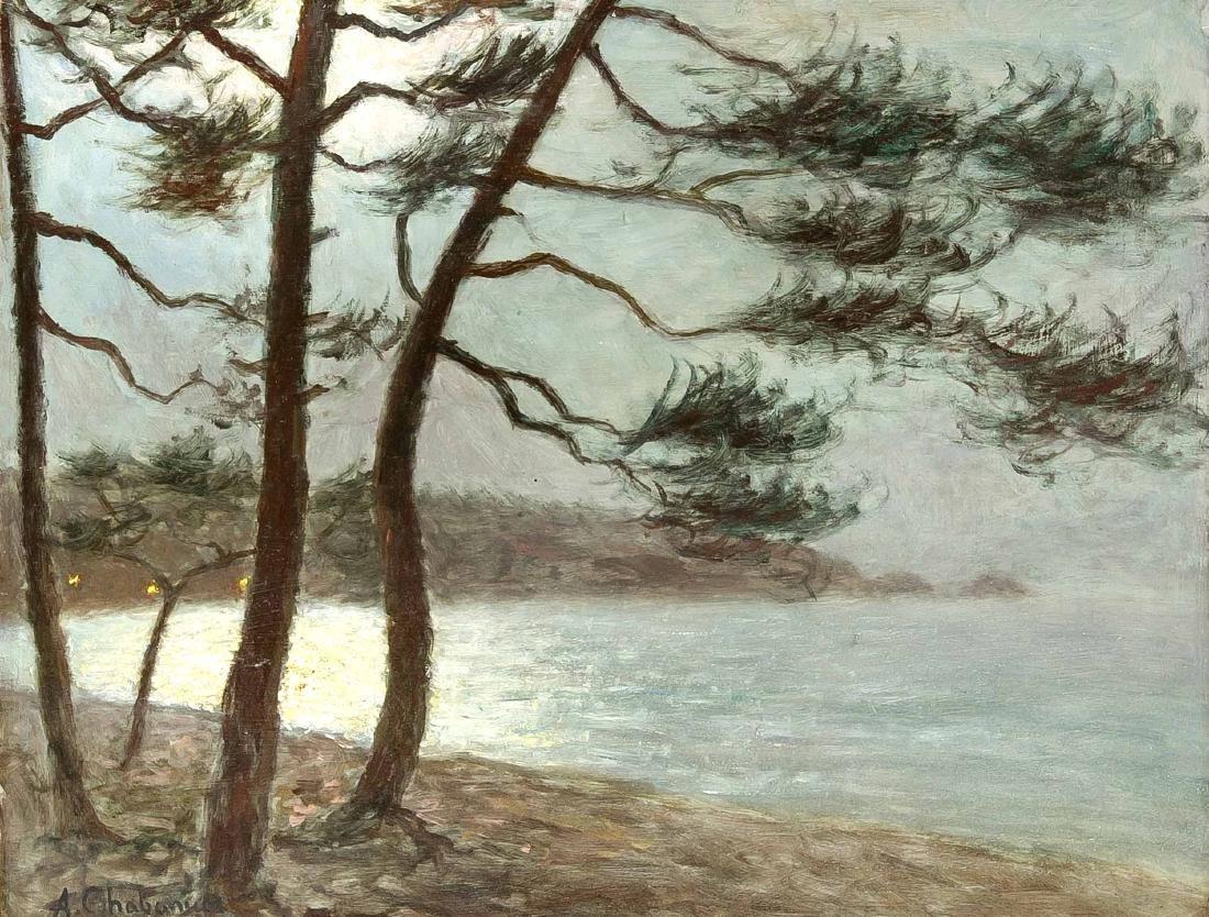Arsen Shabanyan (1864-1949), Armenian-French landscape