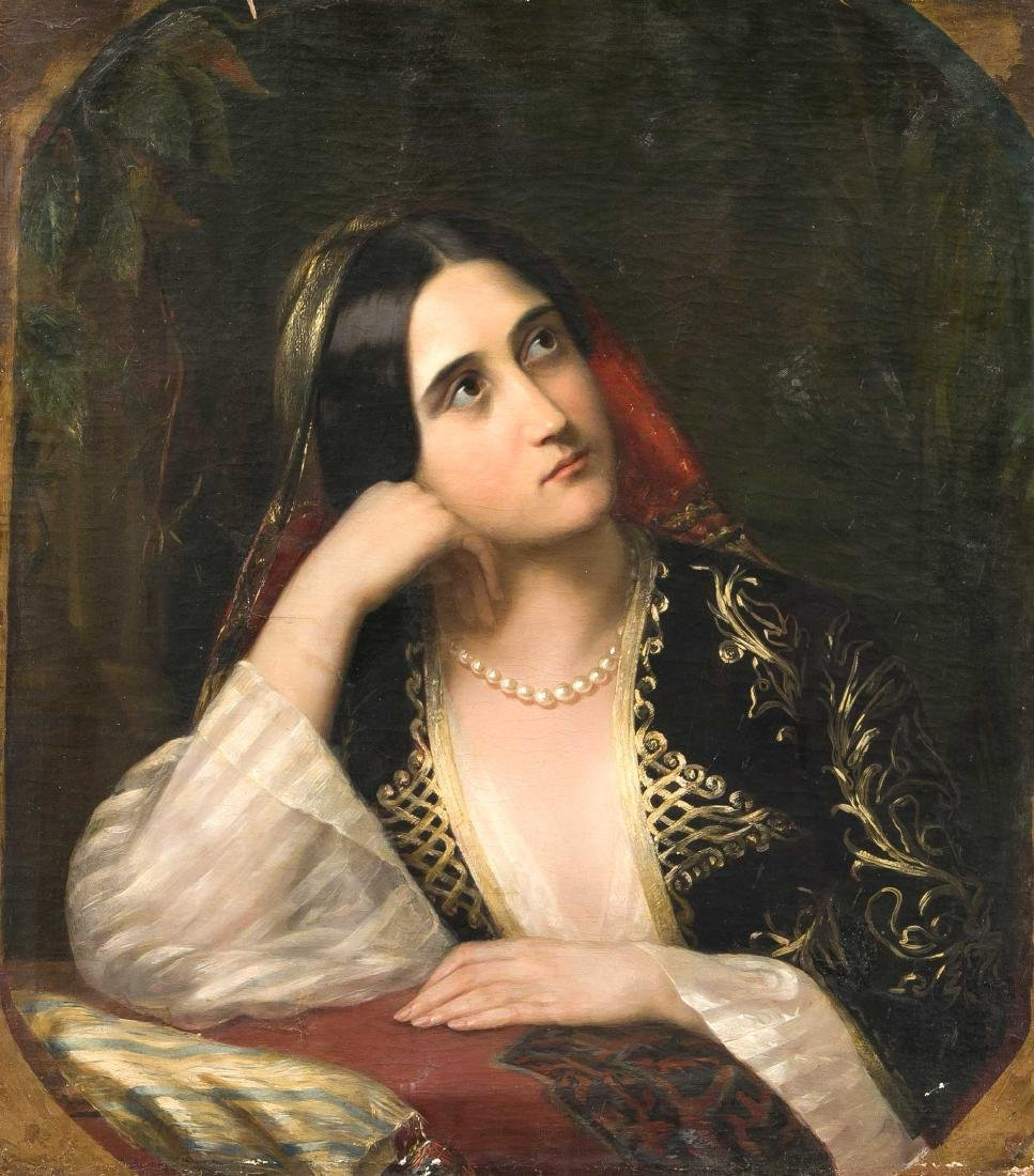 Anonymous Portrait Painter of the 19th Century,